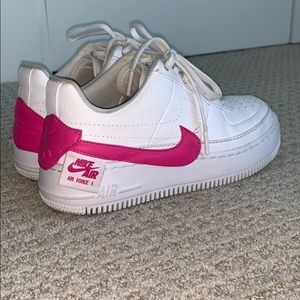nike airforce 1 hot pink